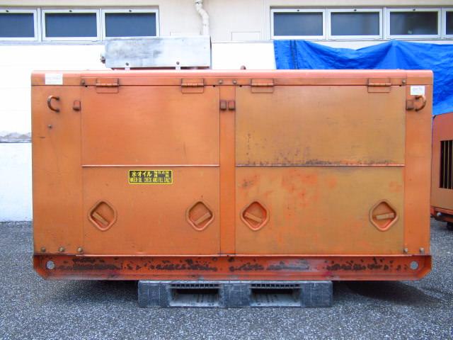 デンヨー エンジン発電機 DCA-55S DH-55S 6BB1 ディーゼルエンジン 買取