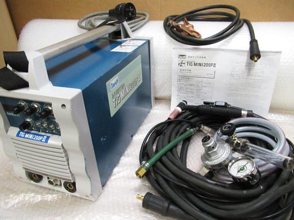 ダイヘン TIG溶接機 MINI 200PⅡ インバータティグミニ 買取