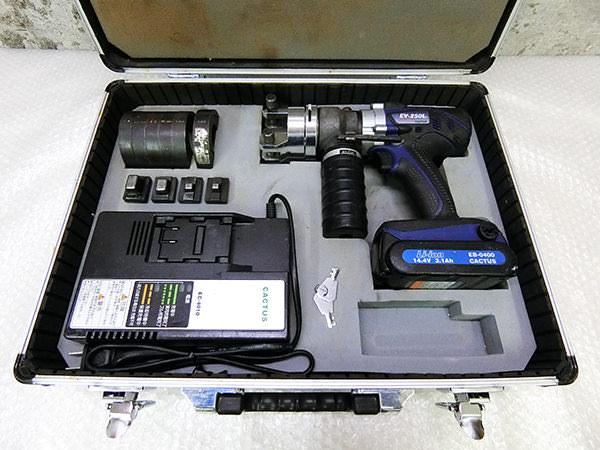 電動油圧式圧着工具1