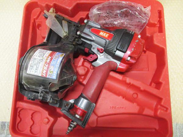 MAX マックス 高圧釘打機 スーパーネイラ HN-75N1 買取