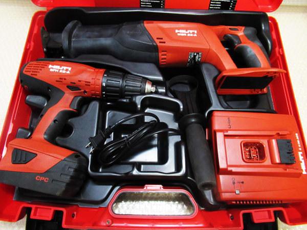 ヒルティ ドライバドリル&レシプロソー SFH22-A  WSR22-A 買取