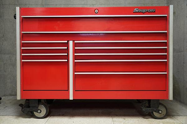 スナップオン ロールキャブ 工具箱 KRL7022 赤 買取