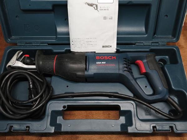 ボッシュ セーバーソー GSA900  買取