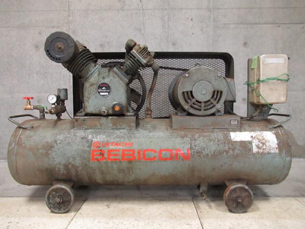 日立工機 コンプレッサー ベビコン 7.5馬力 5.5kw タンク容量170L 買取