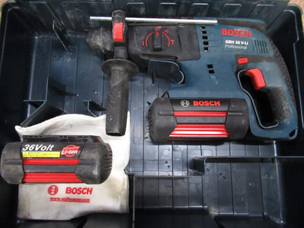 ボッシュ ハンマードリル GBH36V-LI 買取