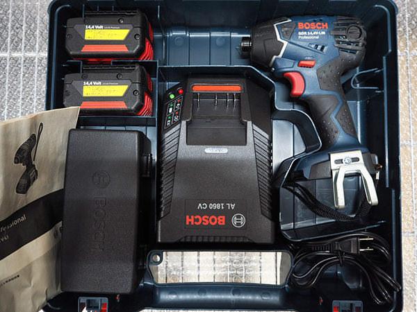 BOSCH ボッシュインパクトドライバー GDR14.4V-LIN 買取