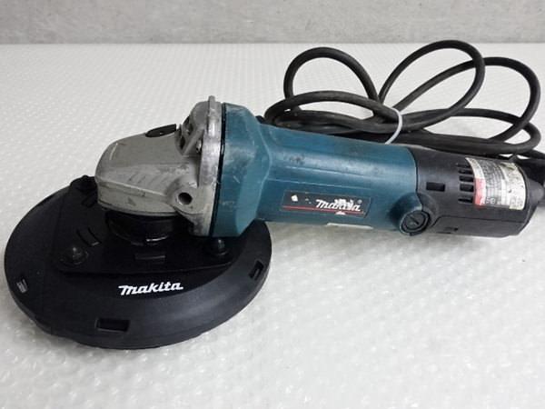 マキタ ディスクグラインダ 9535B 125mm集じんカバー付き 買取