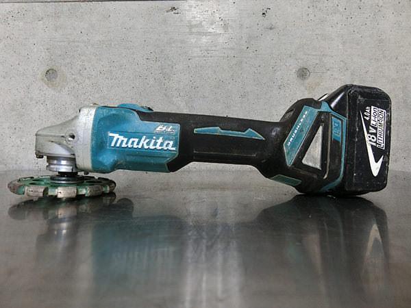 マキタ 充電式ディスクグラインダー GA404DN 100mm 買取
