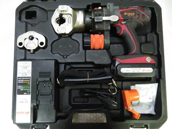 プレス式締付工具1