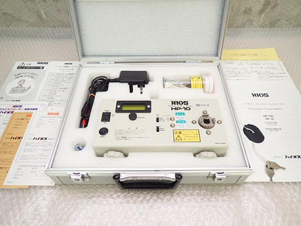 HIOS ハイオス デジタルトルクメーター 計測器 HP-10 買取