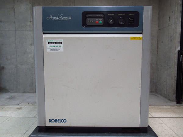 KOBELCO コベルコ スクリューコンプレッサー  HM15AD-5b 買取