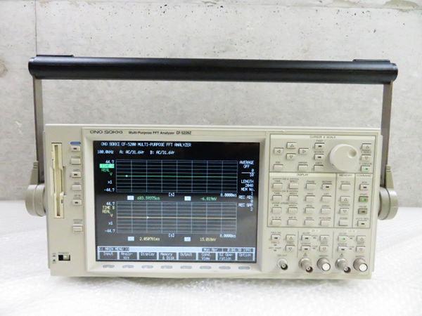 小野測器 CF-5220Z FFTアナライザ