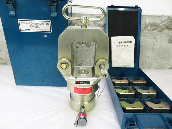 泉精器製作所 EP-520C型 油圧式圧縮ヘッド