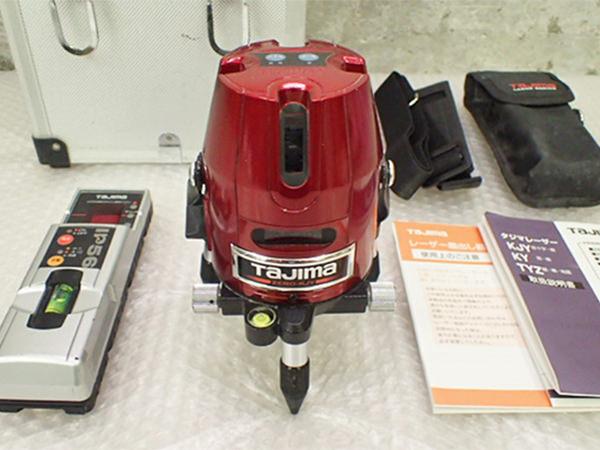 タジマ レーザー墨出し器 ZERO-KJY 受光器付き買取