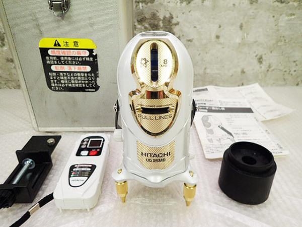 日立 UG 25MB レーザー墨出し器・受光器セット