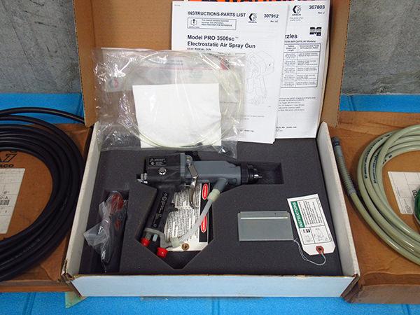 GRACO グラコ 静電スプレーガン PRO3500SC 222-300