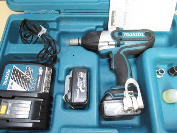 マキタ充電式インパクトレンチTW450D 買取
