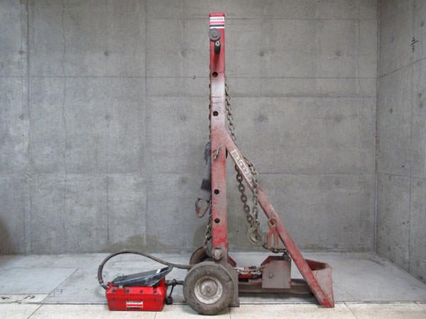 BLACKHAWK ブラックホーク マイティタワー フレーム修正機 RC-159 油圧ポンプ 買取