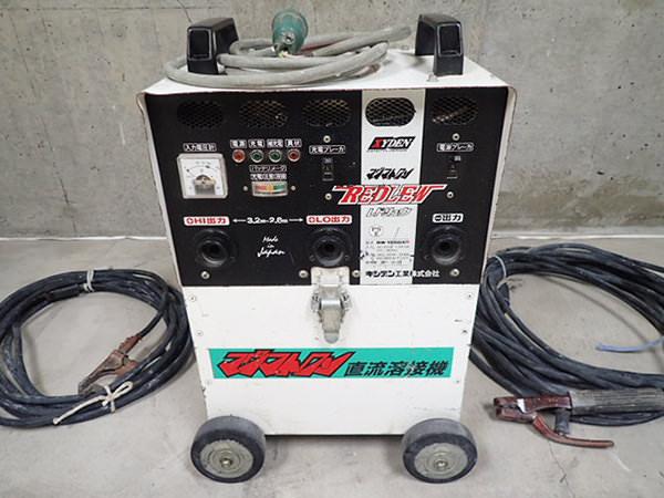 キシデン工業 バッテリー溶接機 マグマトロン BW-155BXR レドリュウ
