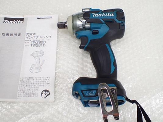 マキタ 充電式インパクトレンチ TW281D 買取