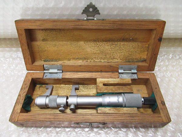 ミツトヨ IMP-75 キャリパー形状内側マイクロメーター 50-75mm内径 買取