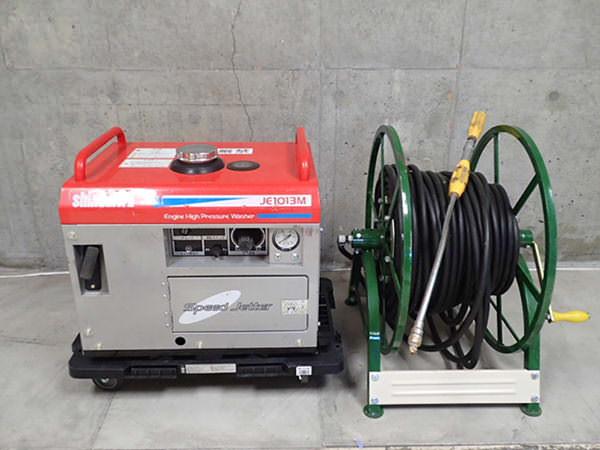 新ダイワ 防音型エンジン高圧洗浄機 JE1013M 買取