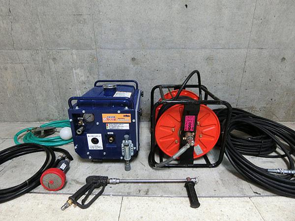精和産業 JC-1513SLI 防音型高圧洗浄機 / HD60 ホースドラム 買取