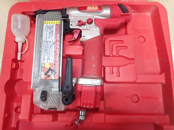 MAX マックス  高圧釘打機 HA-55SF1 (D)  フィニッシュネイラ 買取