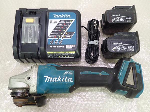 マキタ ディスクグラインダー 100mm  GA403D 買取