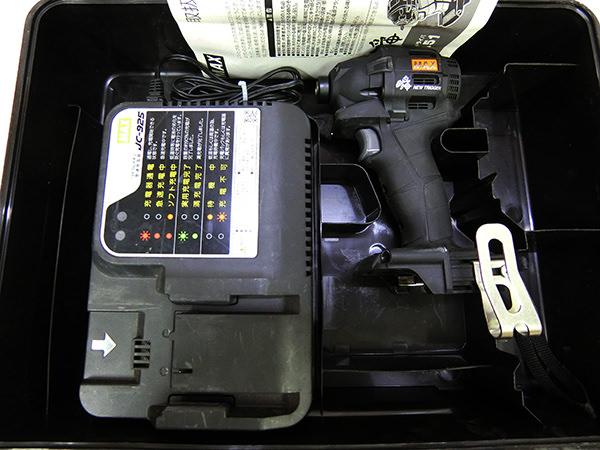 マックス充電式ブラシレス インパクトドライバ PJ-ID151