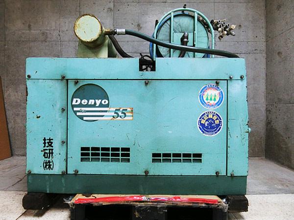 デンヨー エンジンコンプレッサー  DIS-55SB 買取