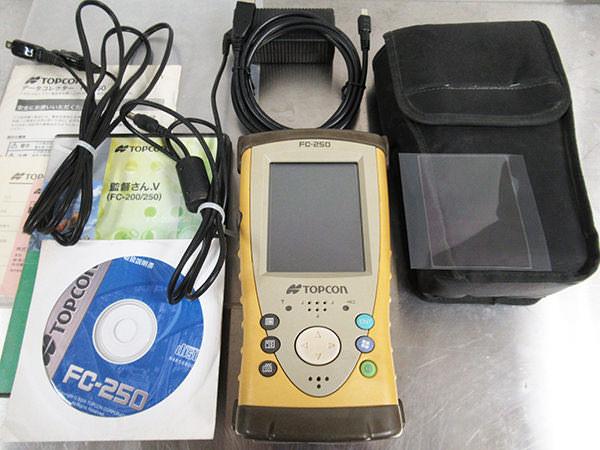 トプコン データコレクタ  FC-250 GNSS統合観測 監督さんV 買取