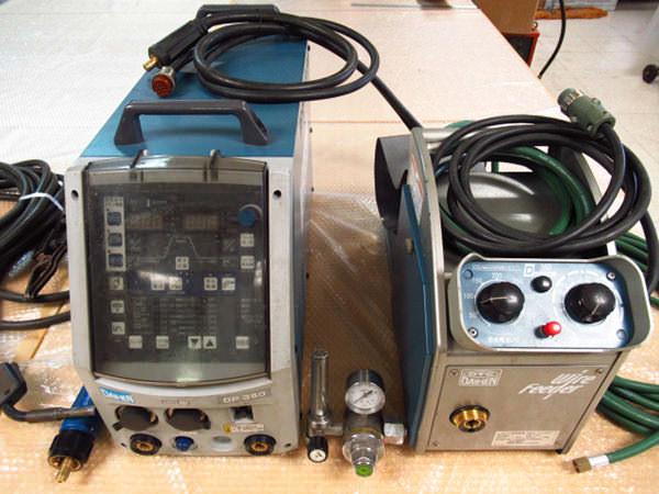 ダイヘン 半自動溶接機 DP-350 (S-1) パルスMAGMIG溶接用直流電源 フルデジタル フルセット  2011年製 買取