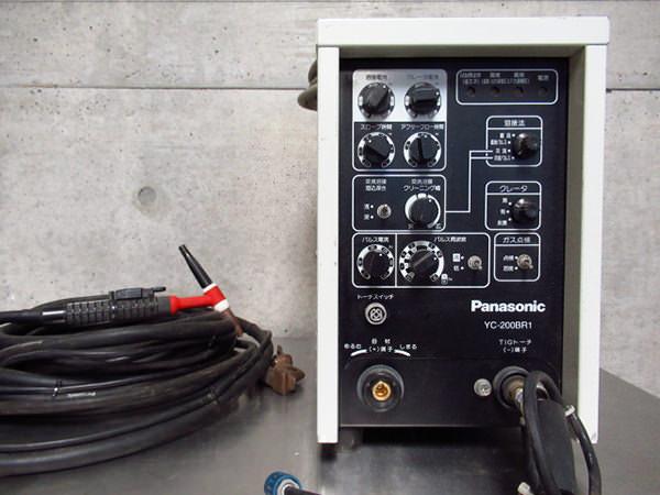 パナソニック TIG溶接機 YC-200BR1 インバータ制御交直両用 買取