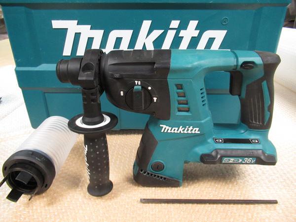 マキタ 充電式ハンマドリル HR263DZK 26mm 18V + 18V = 36V 買取