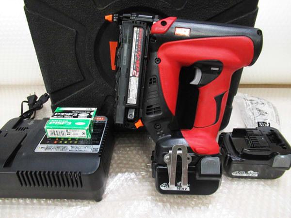 マックス 充電式ピンネイラ TJ-35P2 買取