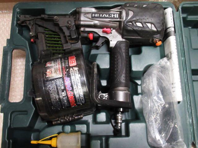 HIKOKI 日立工機 高圧ロール釘打機 90mm  NV90HMC 買取