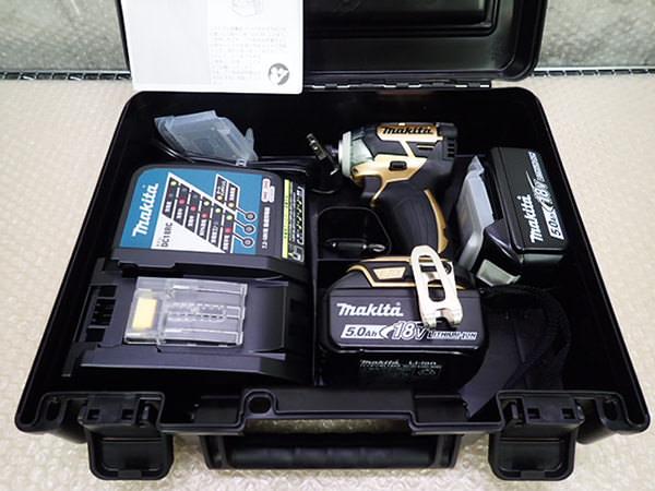マキタ 充電式インパクトドライバ TD148DSP1 18V 100周年限定 ゴールド 買取