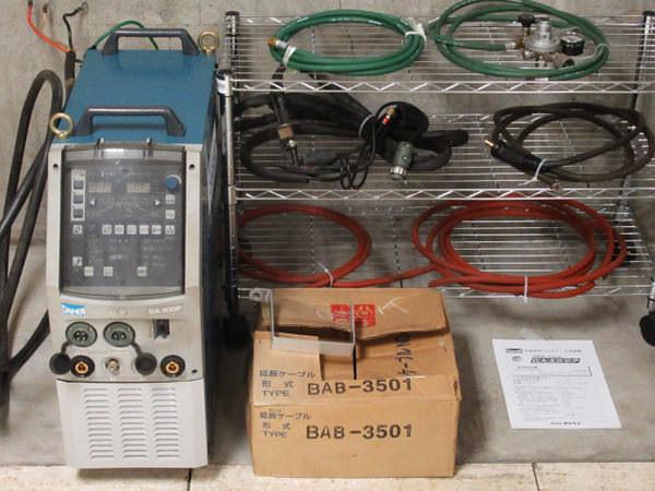 ダイヘン TIG溶接機 デジタルエレコン DA300P 交直両用 空冷 水冷 2008年製 買取