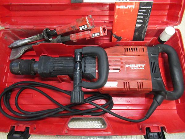 ヒルティ電動ハツリ機 TE905-AVR ブレーカー  電動ハンマー 買取