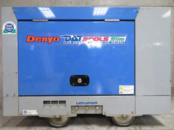 デンヨー TIG溶接機 DAT-300LS 防音型エンジン 買取