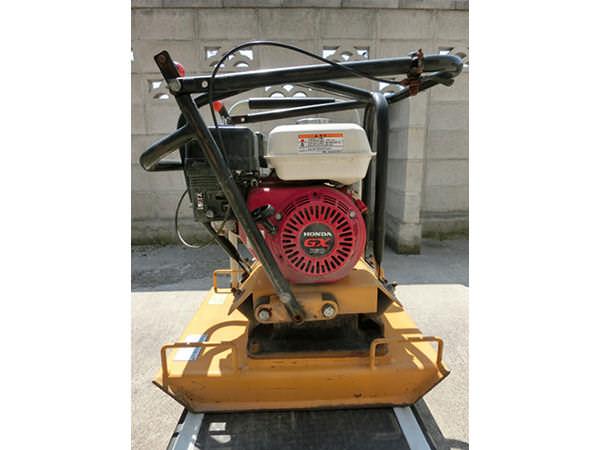 ハイガー産業 転圧機 プレートコンパクター プレートランマー 98kg HG-WH-C100