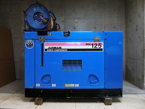 北越工業 エアーマン エンジンコンプレッサー PDS125S 買取