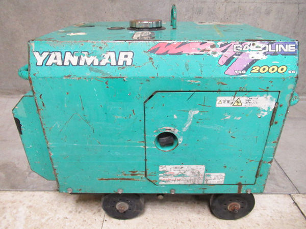 ヤンマー 発電機 YSG2000SS-5 買取