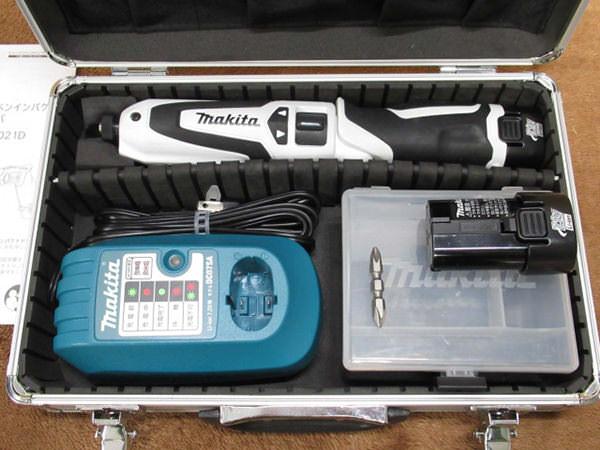 マキタ 充電式 ペンインパクトドライバ TD021DSW 買取
