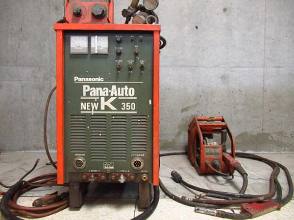 パナソニック ワイヤ送給装置 Pana-Auto NEW K 350 パナオート YD-355KEC 買取