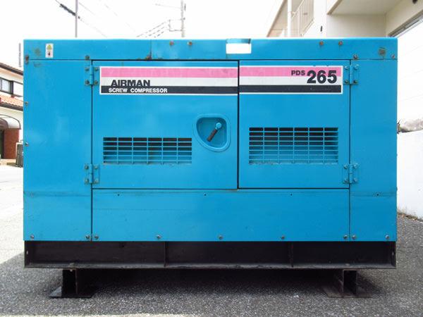 北越工業 AIRMAN エアマン コンプレッサー PDS265S 買取