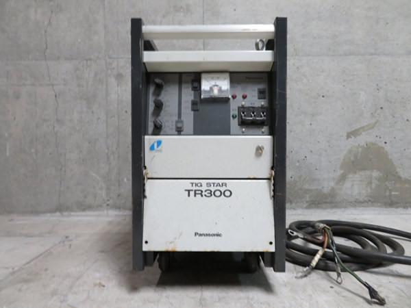 パナソニック TIG溶接機 インバータ制御直流TIG溶接用電源 TIG STAR TR300 YC-300TR5 買取