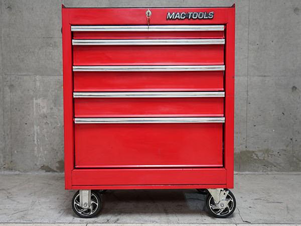 マックツール 工具箱 ロールキャビネット 赤 レッド
