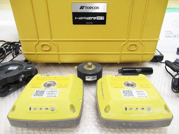 トプコン 2周波GNSS受信機 HiPer SR 2台セット 買取